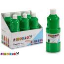 mayorista Regalos y papeleria: bote pintura tempera 400 ml verde claro