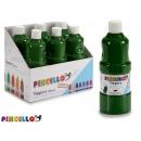 paint bottle tempera 400 ml dark green