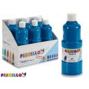 paint bottle tempera 400 ml light blue