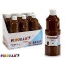 paint bottle tempera 400 ml brown