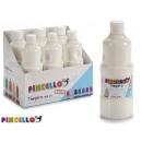 paint bottle tempera 400 ml white