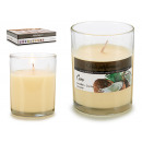 wholesale Drugstore & Beauty: round scented coconut candle