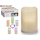 wholesale Candles & Candleholder: led candle changes color 10cm