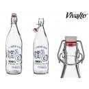 1l Glasflasche h2o