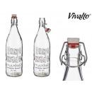 Glasflasche 1l hausgemacht