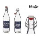 1l glass bottle Vintage