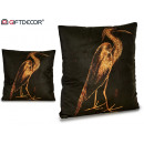 wholesale Cushions & Blankets: cushion velvet heron right 45x45cm