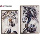 mayorista Juguetes: lienzo caballo pintado surtido 2