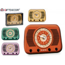 grossiste Electronique de divertissement: montre radio en cristal antique, couleurs 4 fois s