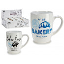 porcelain mug with handle bakery assorted 2