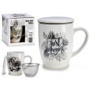 porcelain cup with filter assorted 2