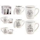 grossiste Maison et cuisine: tasse en porcelaine tea time c filtre et ...
