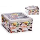 tin box sewing with window