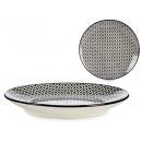 nagyker Háztartás és konyha: Tányér 20 cm-es fekete gyémánt desszert