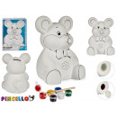 wholesale Saving Boxes: piggy bank to paint big mouse