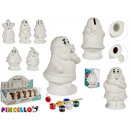 wholesale Saving Boxes: piggy bank gnome ceramica paint 6 times assorted p