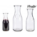 500ml glass decanter with logo