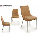 beige backrest chair