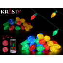led strip 5m 25leds outdoor multicolor light 8