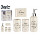 wholesale Bath Furniture & Accessories: bathroom set 4 pieces ceramic relax white