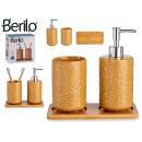 Keramik-Badezimmer-Set 2-tlg. camel quad c ba