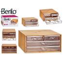 Acryl Bambus rechteckige Organizer Box