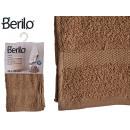 Handtuch glatt 30x50 Kamelfarbe