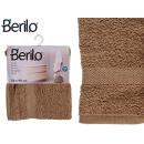 Handtuch glatte 50x90 Kamelfarbe