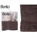 Handtuch glatte 50x90 graue Farbe