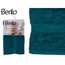 Handtuch glatte 70x130 Petrolblaue Farbe