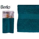 Handtuch glatt 90x150 Petrolblau Farbe