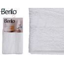 Handtuch glatte 70x130 weiße Farbe