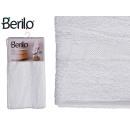 Handtuch glatte 90x150 weiße Farbe