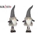 mayorista Ropa / Zapatos y Accesorios: duende gris con gorro de lana 70cm