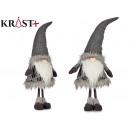 mayorista Ropa / Zapatos y Accesorios: duende gris con gorro de lana 90cm