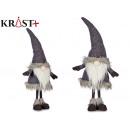 mayorista Ropa / Zapatos y Accesorios: duende de lana gris con gorro 70cm
