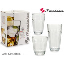 wholesale Household & Kitchen: set of 18 baroque 230 + 300 + 365cc glasses