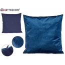 cuscino velluto blu 60x60cm