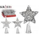 star end tree 14cm silver