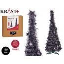 Christmas tree 105cm anthracite tinsel
