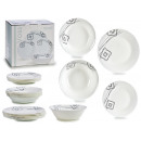 tableware 19 pieces opal voss