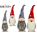 wholesale Other: santa claus wood c felt small, 2 times assorted