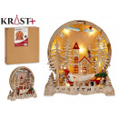 landscape wood grd christmas motifs cl