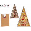 wooden triangle grd christmas motifs c