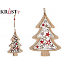 tree wood christmas medium pages hang