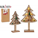 tree wood christmas motifs c light