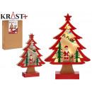 Baum Holz Weihnachten grd 3d c Licht Papa n