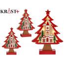 träd trä jul motiv grd 3d c