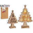 Baum Holz Weihnachten c Licht
