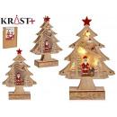 Baum Holz Weihnachten 3d c Licht